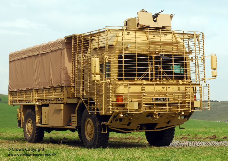 MAN Armoured Truck