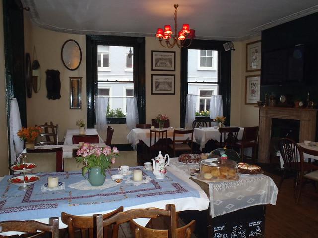 Secret Soho Tea Room