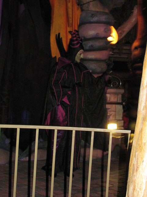 meet and greet maleficent costume