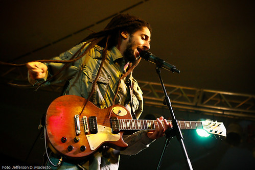 Julian Marley in Brazil
