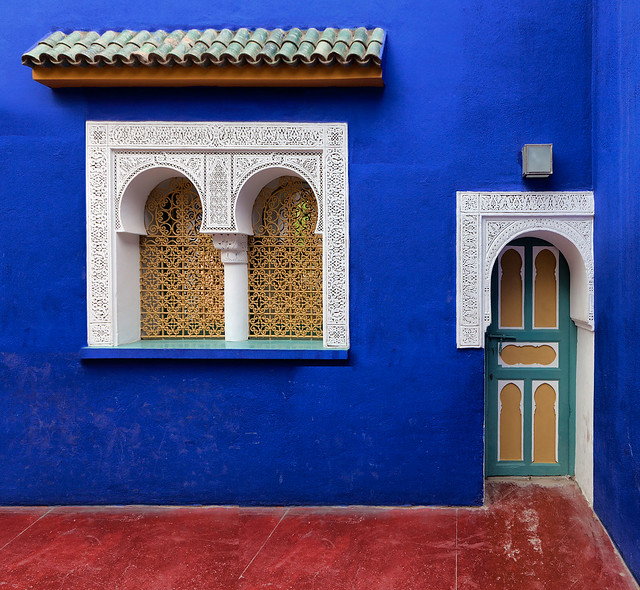 villa majorelle marrakech morocco explore gaston batisti flickr photo sharing. Black Bedroom Furniture Sets. Home Design Ideas