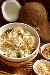 Coconut Rice (Thengai Sadam)