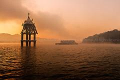 Underwater Temple, Sangkhla Buri, Kanchanaburi, Thailand