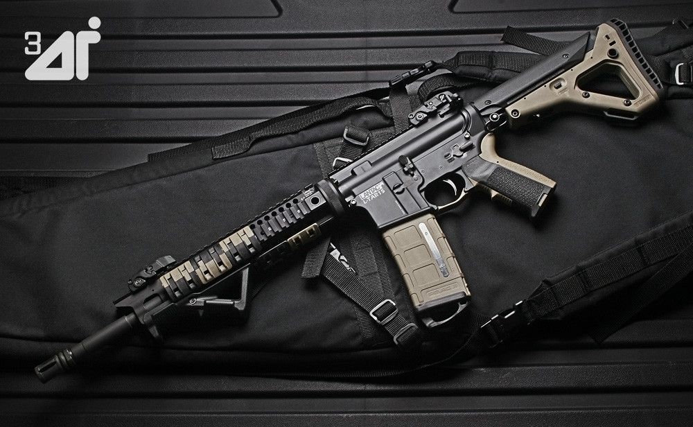 LanTac L-TAR15 AR15 Straight Pull Rifle