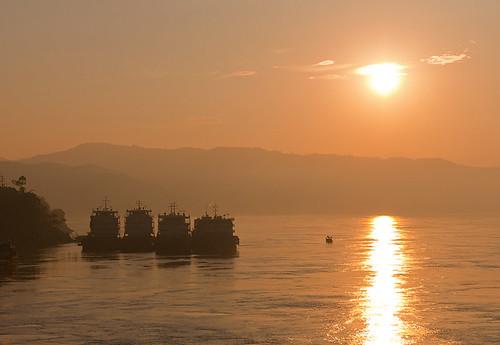 china sunrise asia yangtzeriver