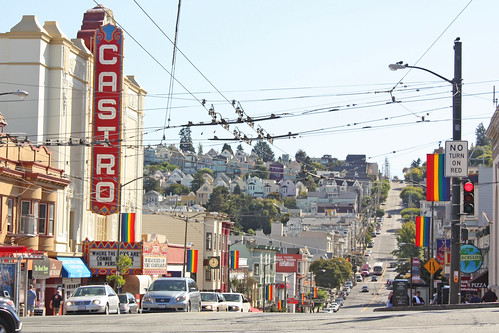 Castro Theater on Castro Street, San Francisco