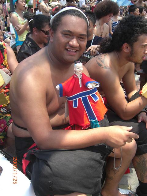 2009年8月份-金色山莊安排毛利舞蹈團至台灣表演