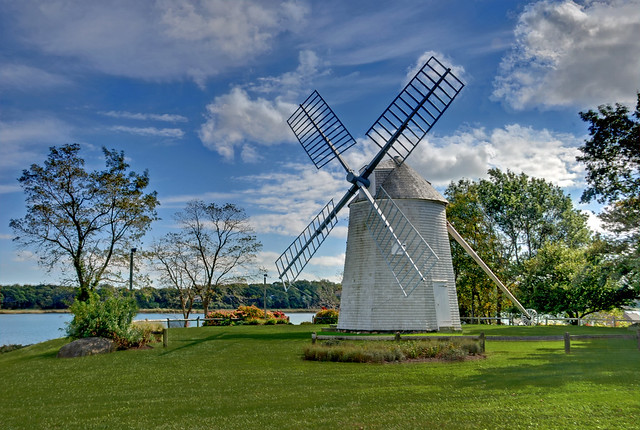 Windmill Orleans Ma Jonathan Young Windmill Near Town