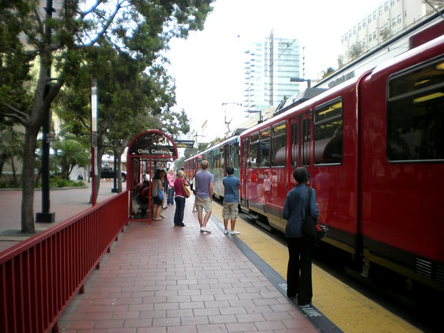 San Diego Trolley (courtesy of Reconnecting America)