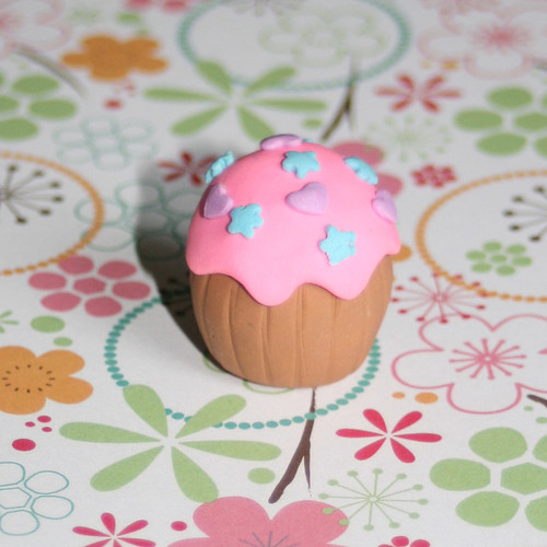 Handmade Cupcake Pencil Eraser Rubber by Strawberry Anarchy