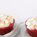 Plum Raspberry Meringue Pots