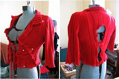 textile, wool, clothing, collar, red, sleeve, maroon, outerwear, cardigan, sweater,