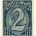 Germany postage stamp: 2 mark