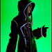 Kingdom Hearts cosplay: TRON-style Organization XIII Vexen at Youmacon 2010 by orgXIIIorg