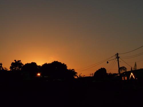 sunrise zonsopgang suriname paramaribo zonsopkomst
