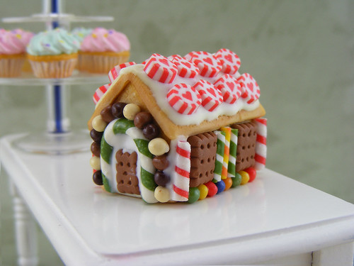 Miniature GingerBread House