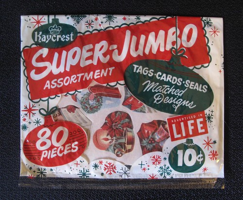 Super Jumbo Christmas Seals by hmdavid