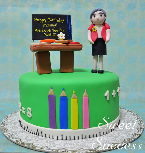 Cake Images For Teacher : Teacher Cakes - a gallery on Flickr