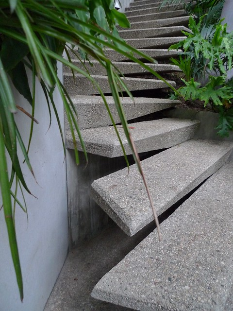 Steps to the sky space