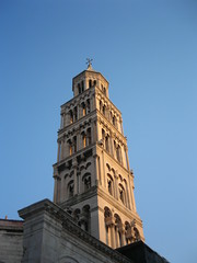 Split tower, old town