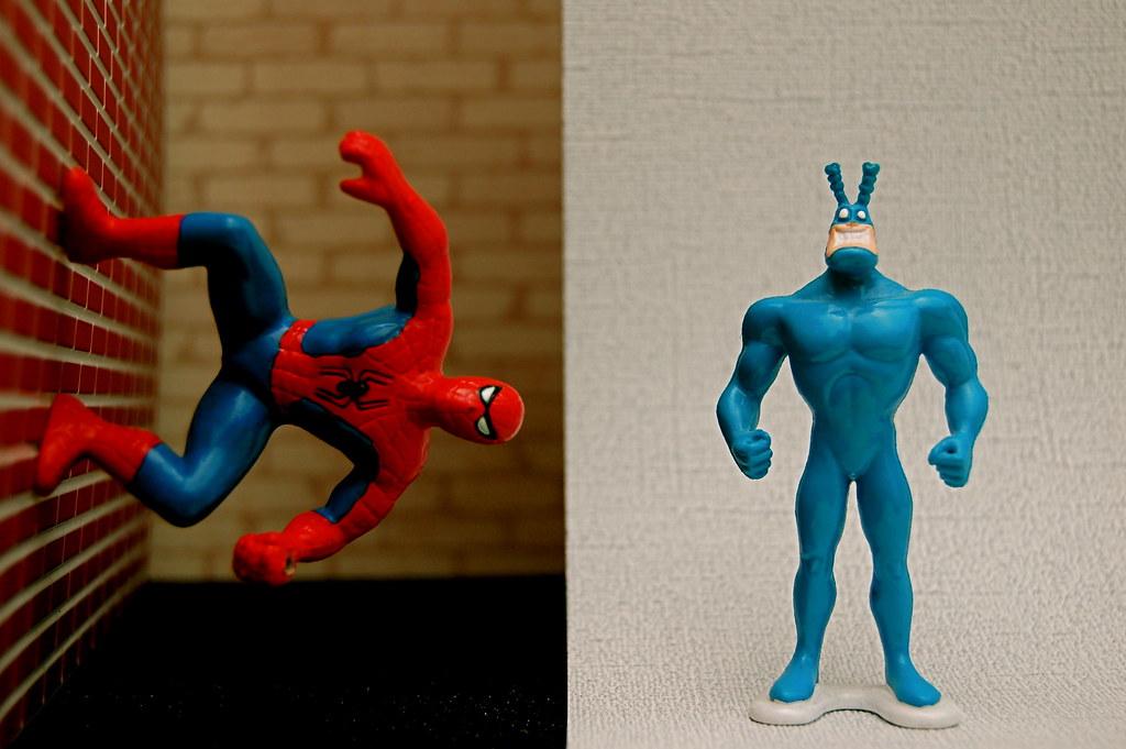 Spider-Man vs. Tick (325/365)