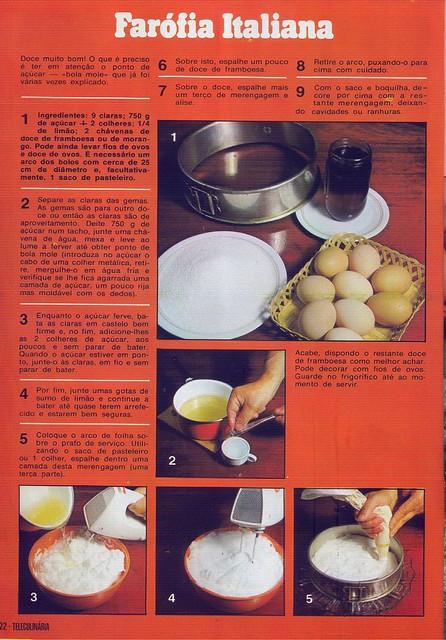 Tele Culinária e Doçaria, Especial Outono, Setembro 1980 - 20
