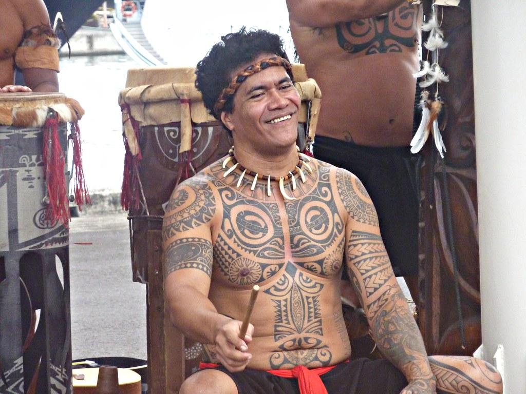 Marquesas Island Drummer