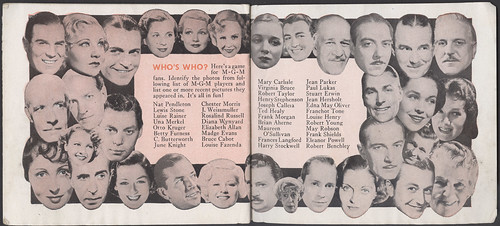 MGM Screen Forecast 1935-36 Booklet Pgs. 21-22