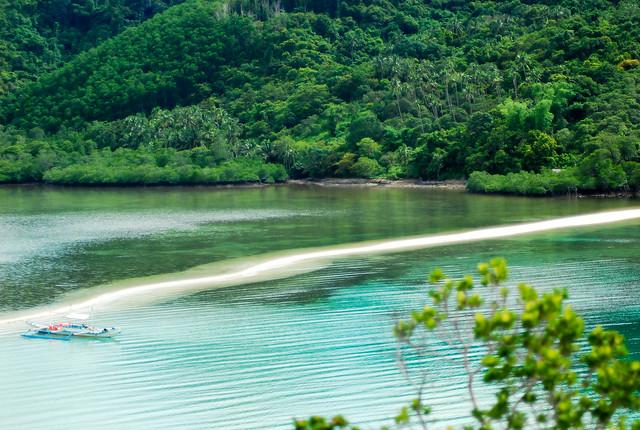Snake Island på Palawan