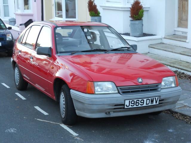 Vauxhall Astra Mk2 | Flickr - Photo Sharing!