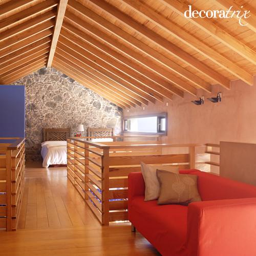 Como hacer un tejado de madera a un agua finest aislar - Tejado a un agua ...