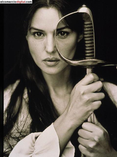 Monica Bellucci una carrera en imágenes