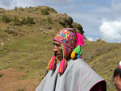 Fri, 18/04/2008 - 09:28 - Quechua farmer in traditional ceremony, Potato Park, Peru
