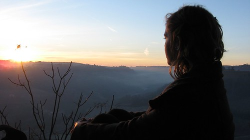 Sunrise. Orvieto, Italy.