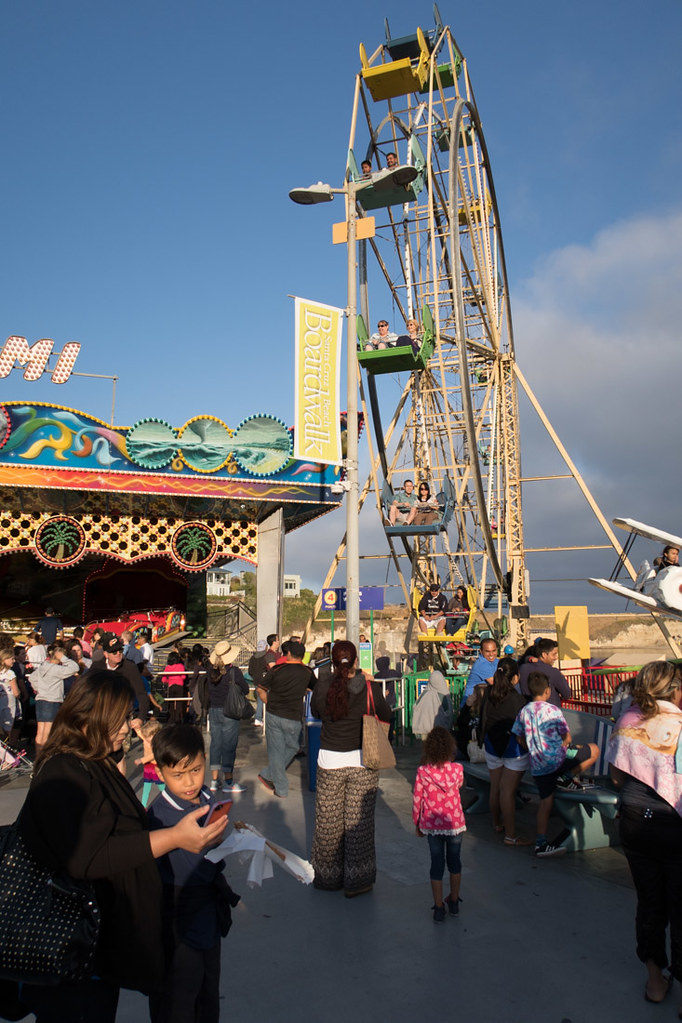 Ferris Wheel and the Santa Cruz Boardwalk