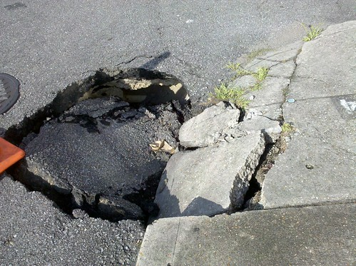 Hole in the road take 3