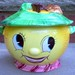 PY Anthropomorphic Lemon Face Cookie Jar