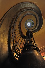 Mechanics' Institute Library Spiral Staircase - San Francisco