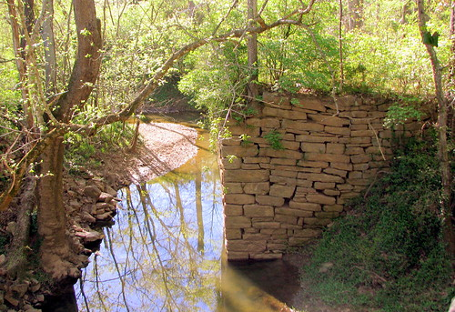 remains of 1801 Old Town Bridge