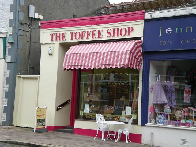 The Toffee Shop in Castle Douglas