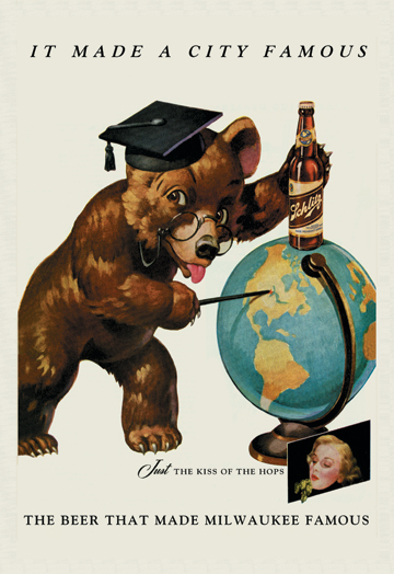 Schlitz-bear-globe