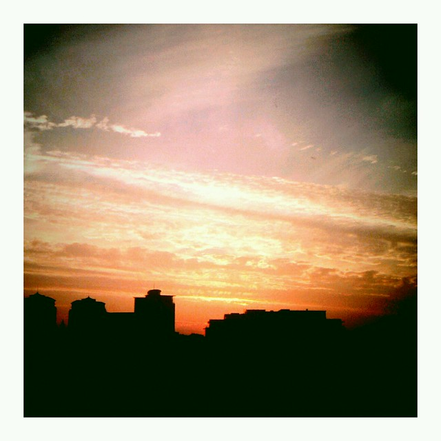 Sunset on leeds