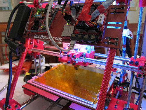 Image of 3D printer by Flickr user Jabella