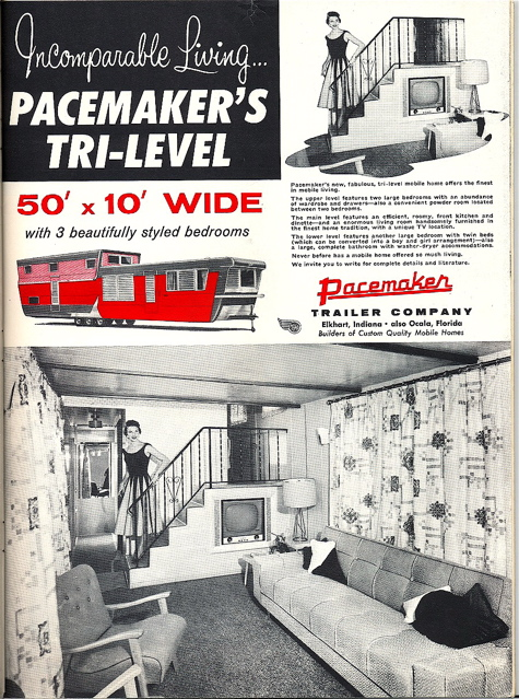 Pacemaker Tri Level Mobile Home Ad A Photo On Flickriver