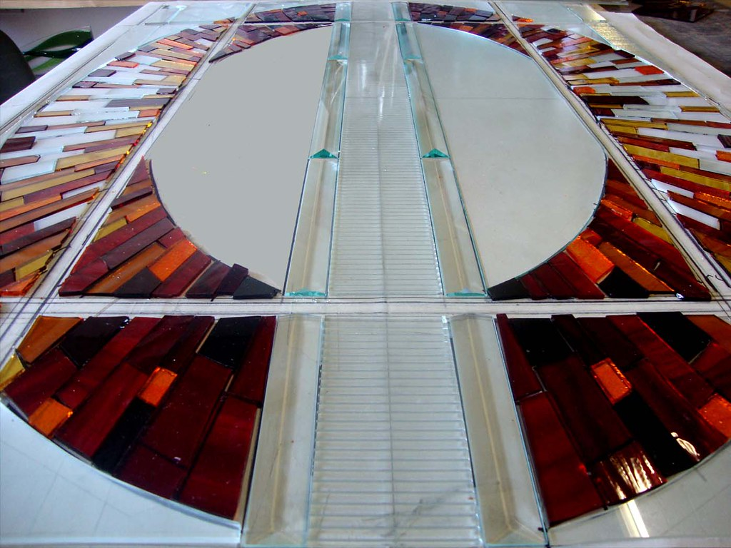 contemporary stained glass current work