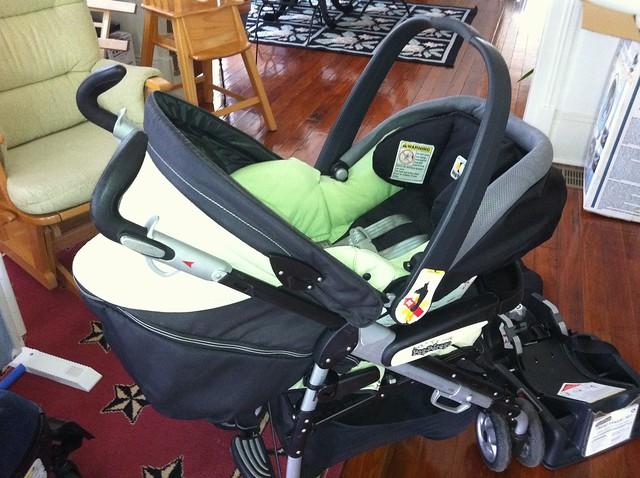 peg perego pliko p3 stroller and primo viaggio infant car seat flickr photo sharing. Black Bedroom Furniture Sets. Home Design Ideas