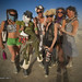 Vau de Vire Society girls at Burning Man 2010