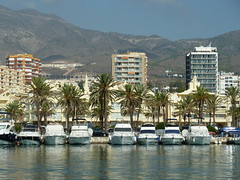 Benalmadena from catamaran