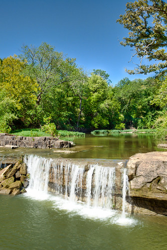 park trees nature water waterfall kansas hdr elkfalls tdpg