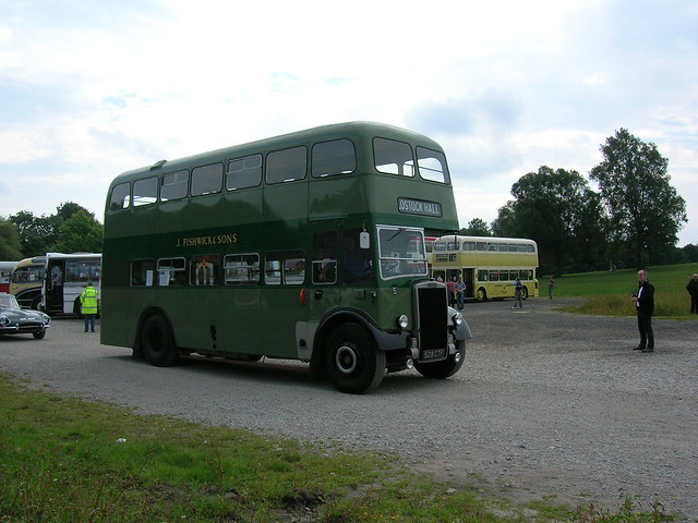 Leyland Titan, 528 CTF, J. Fishwick and Sons